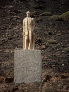 Monumento a Miguel de Unamuno en Montaña Quemada, Fuerteventura