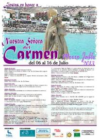 Cartel Fiestas El Carmen Morro Jable 2013